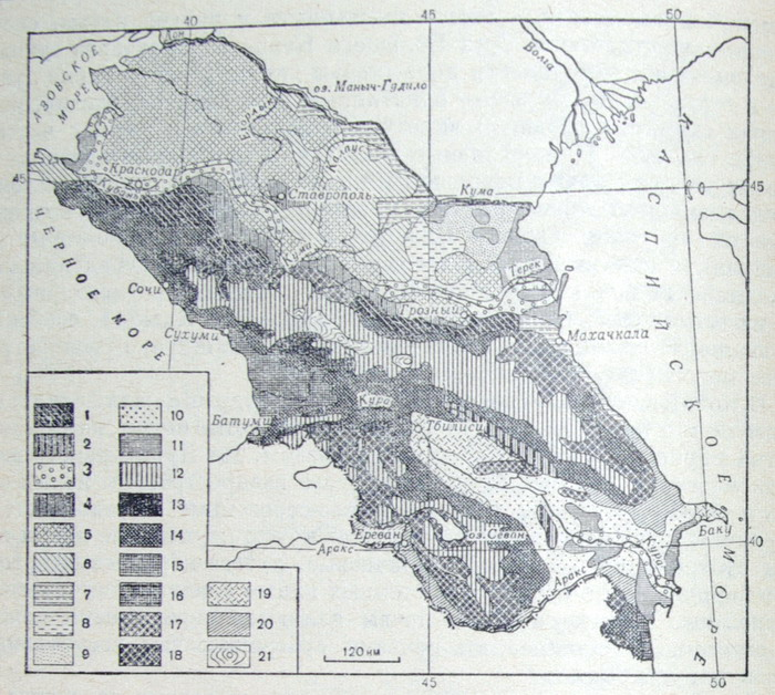 Растительность кавказа