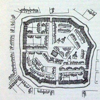 План крепости Печенеги до