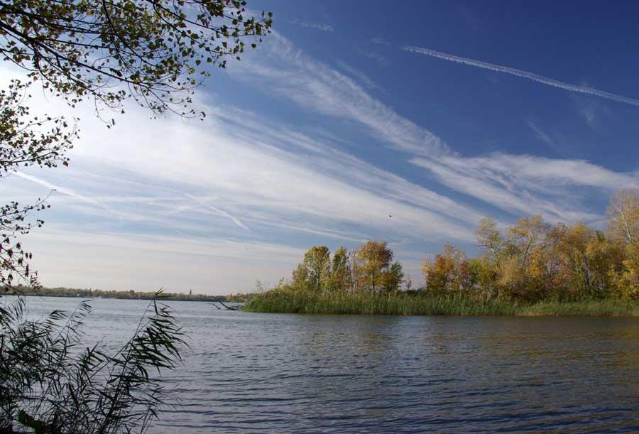 По течению от цимлянской гэс река дон
