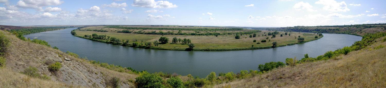 Северский Донец. Вид с