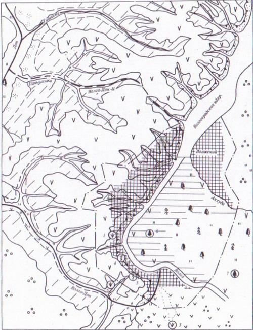 схема Волго-Донского