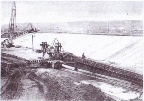 Строительство канала